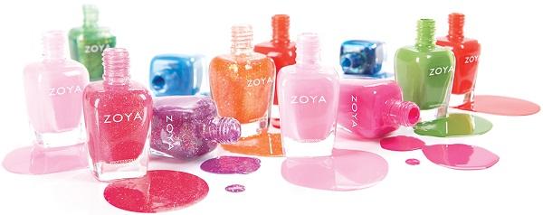 Zoya nagellack, ett medvetet val
