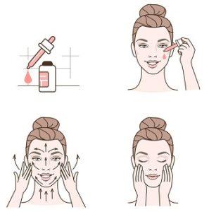 Så här använder man ett ansiktsserum
