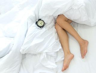 Att sova med en mask är smidigt