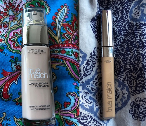 Loréal True Match Foundation och concealer smink